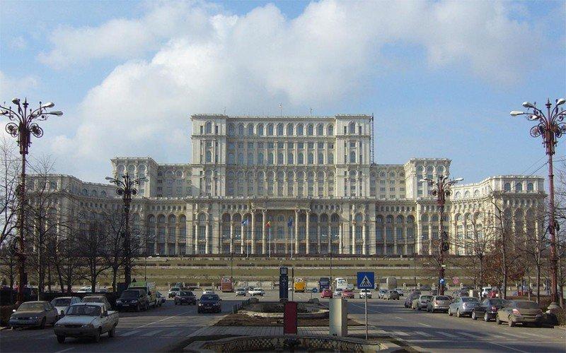 Piata Unirii Parliament