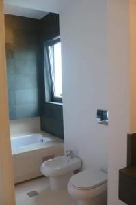 first bathroom of the apartment