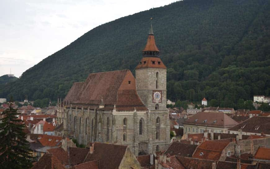black church in Brasov